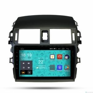 Штатная магнитола Parafar с IPS матрицей для Toyota Corolla 2007-2012 на Android 6.0 (PF974Lite)