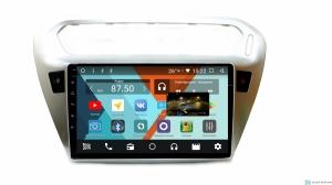 Штатная магнитола Parafar с IPS матрицей для Peugeot 301 на Android 8.1.0 (PF991K)