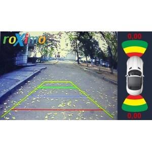 Парковочный радар с входом для 2х камер (Видеопарктроник) RPV-002