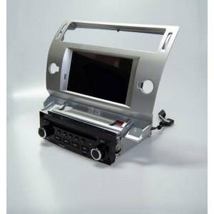 Carmedia QR-7066-s Головное устройство на Android 6.0.1 для Peugeot C4 2004-2011, C5 серебро