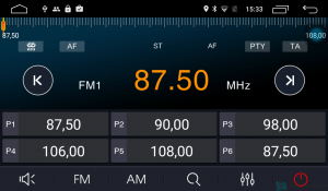 Штатная магнитола Parafar 4G/LTE с IPS матрицей для Chevrolet Aveo 2015+ на Android 7.1.1 (PF972)