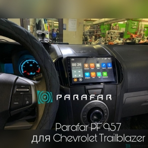 Штатная магнитола Parafar 4G/LTE с IPS матрицей для Chevrolet Trailblazer на Android 7.1.1 (PF957)
