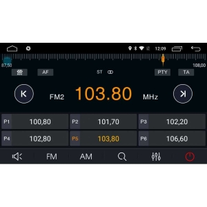 Штатная магнитола Hyundai Creta LeTrun 2221 Android 6.0.1 MTK 4G