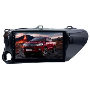 Штатное головное устройство для Toyota Hilux с 2015 LeTrun 3142-1827 10 дюймов KD Android 8.x MTK 4G 2+16 Gb
