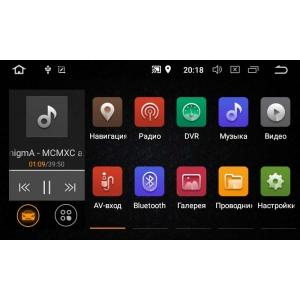 Штатная магнитола Toyota Auris с 2013 до 2015 года LeTrun 2695 MT Android 8.x