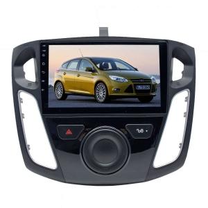 Штатная магнитола для Ford Focus 3 ( 2011-2015 г ) LeTrun 2709-2361 9 дюймов KD Android 8.x MTK-L 2.5D 1+16 Gb