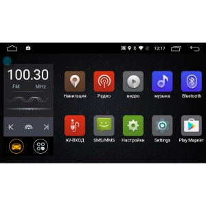 Штатная магнитола Toyota Auris 2006-2012 года LeTrun 2326 Android 6.0.1 MTK 4G