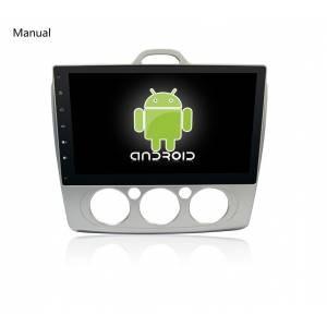 CARMEDIA QR-1059/60 Головное устройство на Android 6.0.1 Ford Focus 2