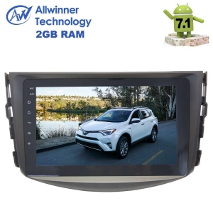 Штатная магнитола Toyota RAV4 2006-2012 г. LeTrun 2576 ZH Android 7.1.2 Alwinner экран 8 дюймов