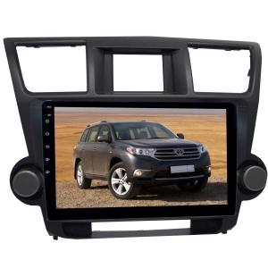 Штатная магнитола для Toyota Highlander 07-13 LeTrun 2293-2509 10 дюймов KD Android 8.x MTK 4G 2.5D 2+16 Gb