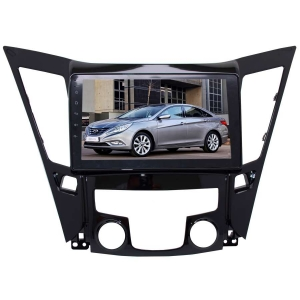 Штатная магнитола для Hyundai Sonata 10-13 г LeTrun 2298-2987 9 дюймов NS Система 360° MTK 2+32 Gb Android 7.x