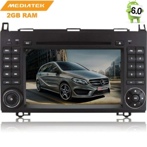 Штатная магнитола Mercedes A/B-class, Vito,Viano,Crafter, Sprinter LeTrun 1473 Android 6.0.1 MTK 4G