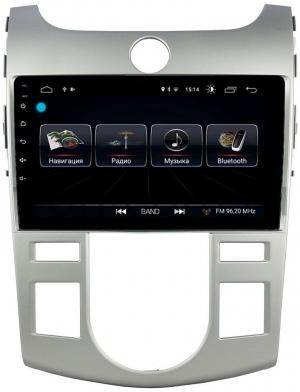 Автомагнитола Letrun Kia Cerato 2008-2013 (с климатом) 4G+64G 9 дюймов с 4G LTE Sim