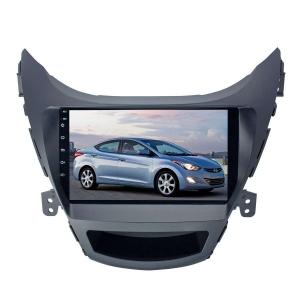 Штатная магнитола для Hyundai Elantra, Avante 2012-2014 LeTrun 3132-2987 9 дюймов NS Система 360° MTK 2+32 Gb Android 7.x