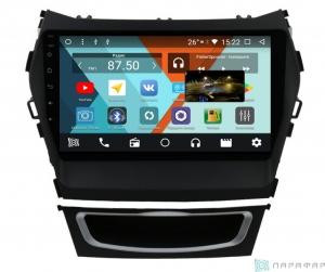 Штатная магнитола Parafar с IPS матрицей для Hyundai Santa Fe 3 2012+ на Android 8.1.0 (PF209K)