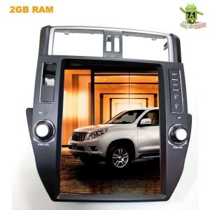 Штатная магнитола 2DIN Toyota Prado 150 09-13 LeTrun 2199 KSP Android 7.1.1 экран 12 дюймов Tesla
