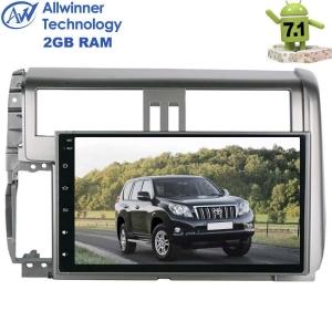 Штатная магнитола Toyota Prado 150 с 2013 г. LeTrun 2053 Android 7.1.1 экран 10,2 дюйма Alwinner