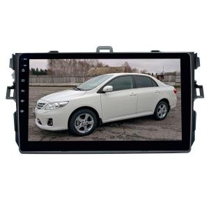 Штатная магнитола для Toyota Corolla 2007-2012 г. LeTrun 2664-2977 9 дюймов VT Android 8.x MTK-L 1+16 Gb