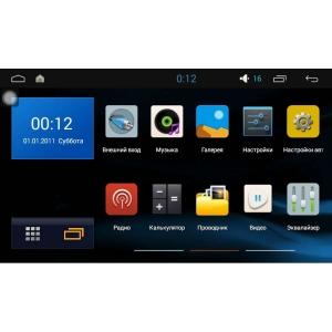 Штатная магнитола Hyundai Tucson с 2015 LeTrun 1648 Intel Android 5.1 экран 9 дюймов