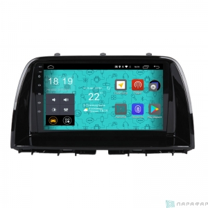 Штатная магнитола Parafar 4G/LTE с IPS матрицей для Mazda CX-5 2012+ на Android 7.1.1 (PF984)