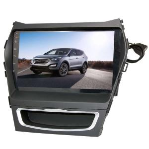 Штатная магнитола для Hyundai Santa Fe, IX45 13+ LeTrun 2079-2361 9 дюймов KD Android 8.x MTK-L 2.5D 1+16 Gb