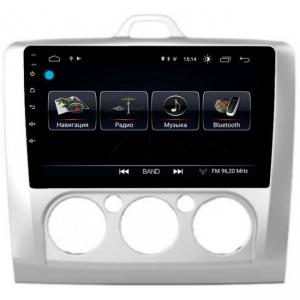 Автомагнитола Letrun Ford Focus 2 (кондиционер) 4G+64G 9 дюймов с 4G LTE Sim