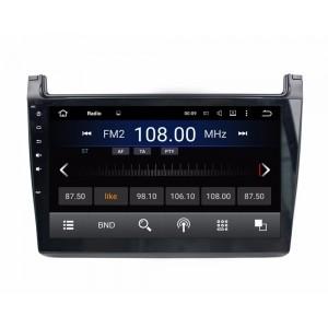 Штатное головное устройство для Volkswagen POLO рестайлинг на Android 8.0 Carmedia KDO-1019