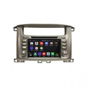 Штатное головное устройство для TOYOTA Toyota Land Cruiser 100 2002-2008 на Android 8.0 Carmedia KDO-7020
