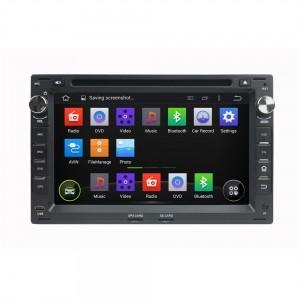 Штатное головное устройство для Volkswagen, Skoda (квадрат) на Android 8.0 Carmedia KDO-7009 черный