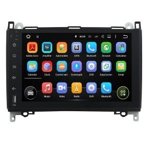 Штатное головное устройство для Mercedes-Benz A, B, Viano, Vito, Sprinter, Volkswagen Crafter на Android 8.0 Carmedia KDO-9011
