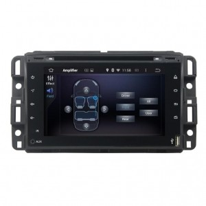Штатное головное устройство для CHEVROLET TAHOE 2006–2015 (GMT900), HUMMER H2 2008-2009 на Android 8.0 Carmedia KDO-7409