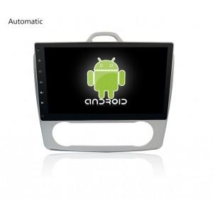 Головное устройство FORD Focus II 2004-2011 для автомобилей с кондиционером и климат-контролем на Android 7.1 CARMEDIA KR-1059-T8