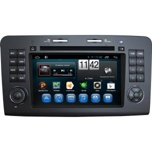 Штатное головное устройство MERCEDES ML класс W164 2005-2011, GL класс X164 2006-2012 на Android 7.1 CARMEDIA KR-7014-T8