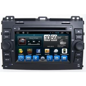 Головное устройство TOYOTA Land Cruiser Prado 120 2002-2009 на Android 7.1 CARMEDIA KR-7095-T8