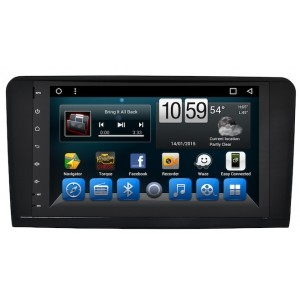Штатное головное устройство MERCEDES ML класс W164 2005-2011, GL класс X164 2006-2012 на Android 7.1 CARMEDIA KR-9058-T8