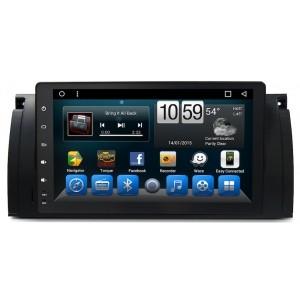 Штатное головное устройство BMW X5 2000-2006 (E53), 5-я серия 1996-2003 (E39), 7-я серия 1994-2001 (E38) на Android 7.1 CARMEDIA KR-9061-T8