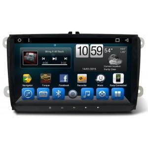 Штатное головное устройство Volkswagen/ Skoda 9 дюймов на Android 7.1 CARMEDIA KR-9071-T8