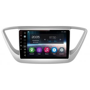 Штатная магнитола FarCar s200 для Hyundai Solaris 2017+  на Android 8.0.1 (V766R-DSP)