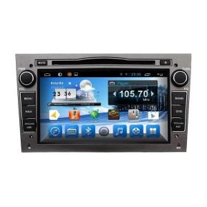 Carmedia QR-7045-g Головное устройство на Android 6.0.1 для Opel / Buick Astra H, Vectra С, Corsa D, Antara, Vivaro, Meriva, Zafira (темно серый)
