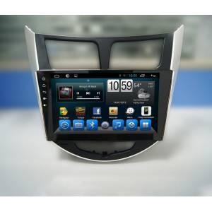 CARMEDIA QR-9020 Головное устройство на Android 6.0.1 для Hyundai Solaris