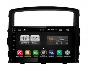 Штатная магнитола FarCar s185 для Mitsubishi Pajero на Android (LY1009R)