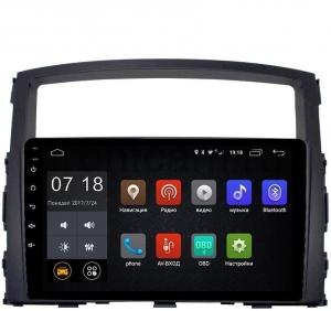 Автомагнитола Letrun Mitsubishi Pajero 4 4G+64G 9 дюймов с 4G LTE Sim