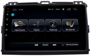 Автомагнитола Letrun Prado 120 4G+64G 9 дюймов с 4G LTE Sim