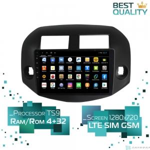 Штатная магнитола Parafar для Toyota RAV4 на Android 8.1.0 (PF018XHD)