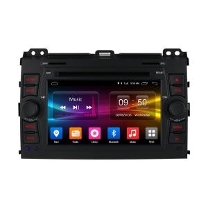 Штатная магнитола Android Carmedia OL-7603-8-MTK Toyota Prado 120 (поддержка усилителя Pioneer)