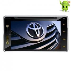 Штатная магнитола Toyota Univ 200*100 Android 5.1 + камера заднего вида